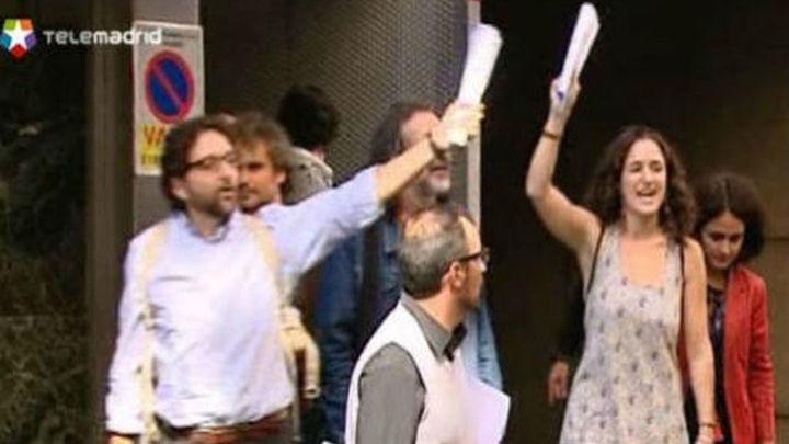 La juez de Madrid confirma remitir los detenidos del 25S a la Audiencia Nacional