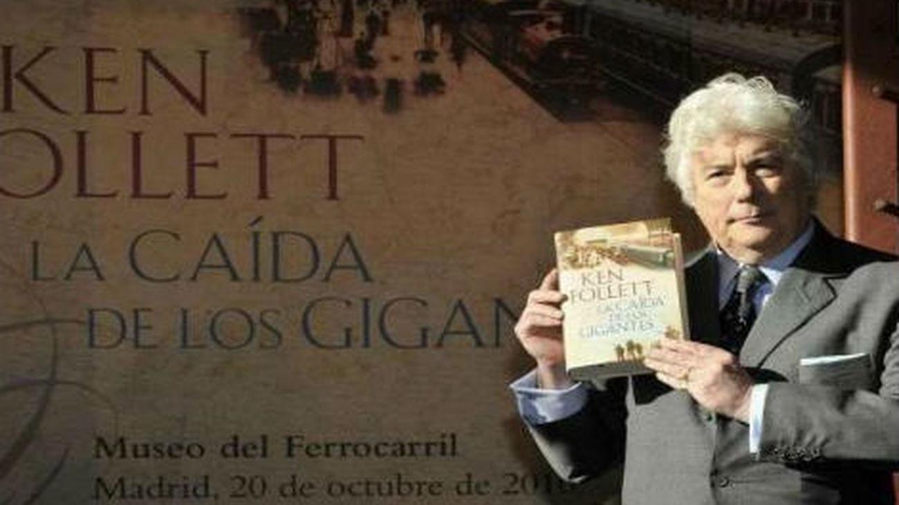 Ken Follet presenta en Madrid 'El invierno del mundo', su última novela