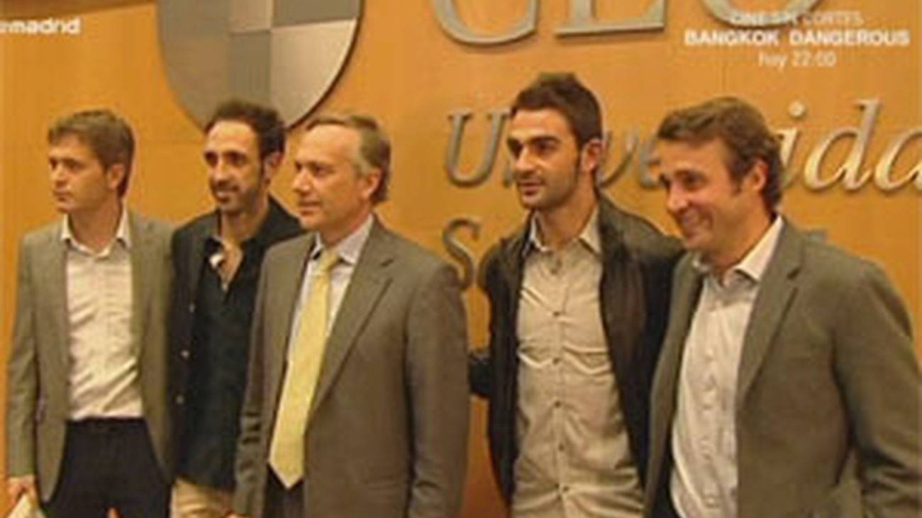 Juanfran y Adrián abren el Ciclo de Deportes del CEU
