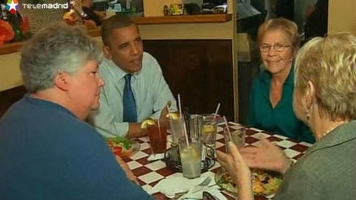 Obama alerta de que no se puede confiar en su rival y Romney apela a las familias