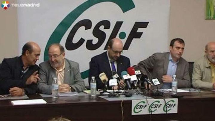 El sindicato de funcionarios CSI-F no secundará la huelga general