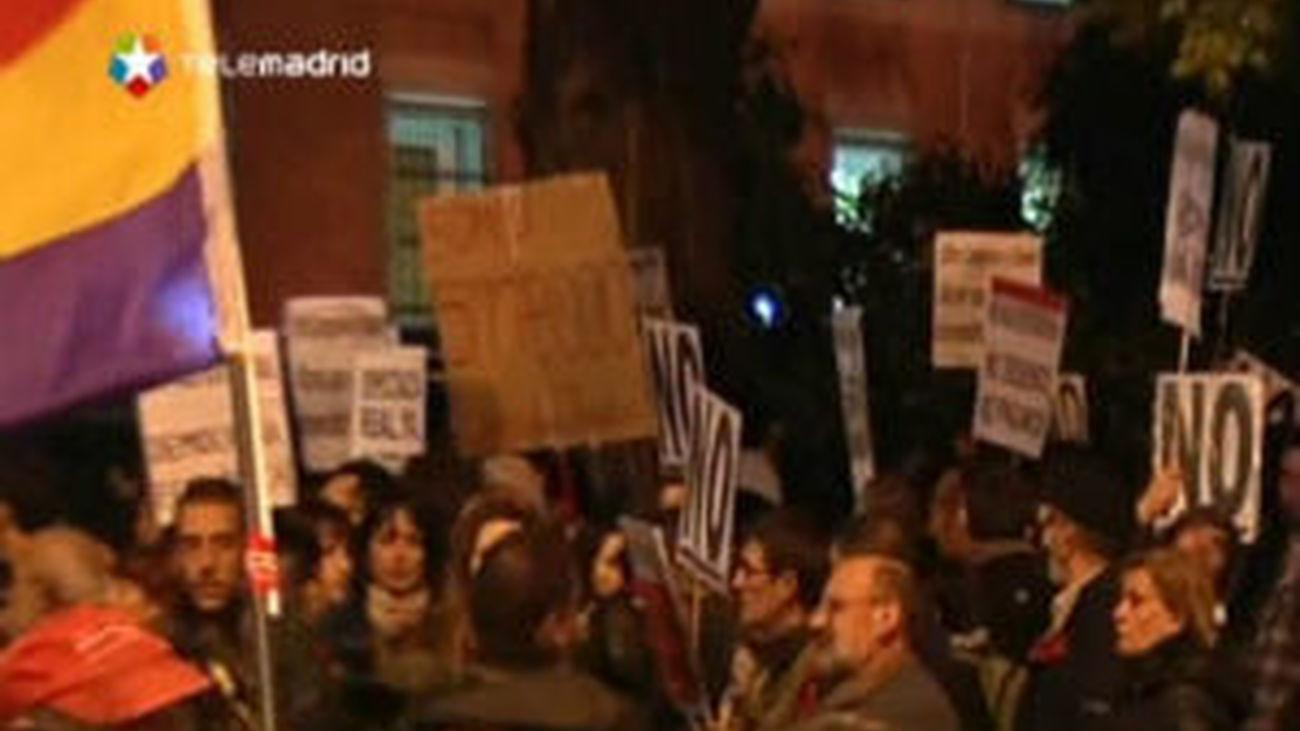 Delegación del Gobierno cifra en 3.000 los participantes en la manifestación del 25S