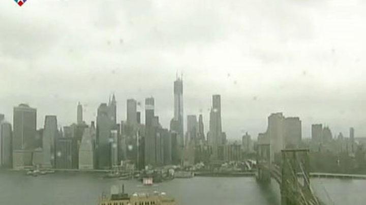 """""""Sandy"""" tocará tierra de madrugada en Nueva Jersey con vientos de 150 kilómetros/hora"""
