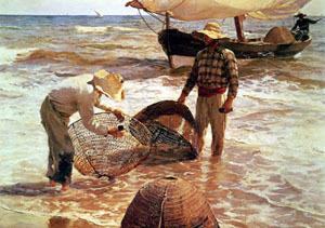Pescadores valencianos