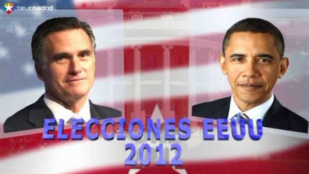 """Obama visita """"zona cero"""" de ciclón """"Sandy"""" y Romney mantiene la incógnita"""
