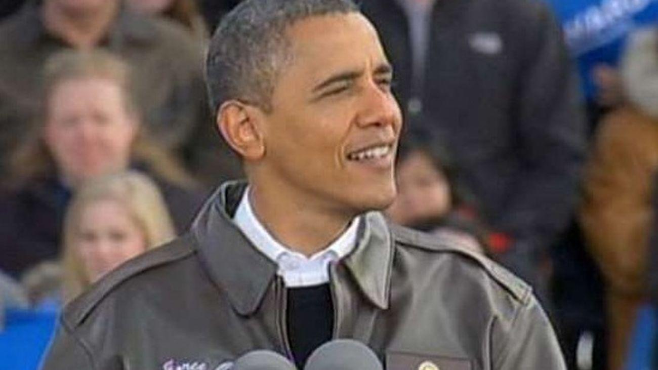 """Obama ataca el """"cambio"""" que propone Romney y promete defender a la clase media"""