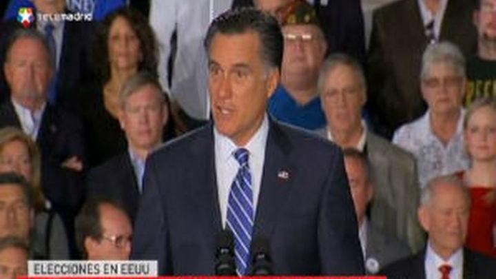 Obama y Romney recorren sin descanso los estados que pueden darles la vitoria