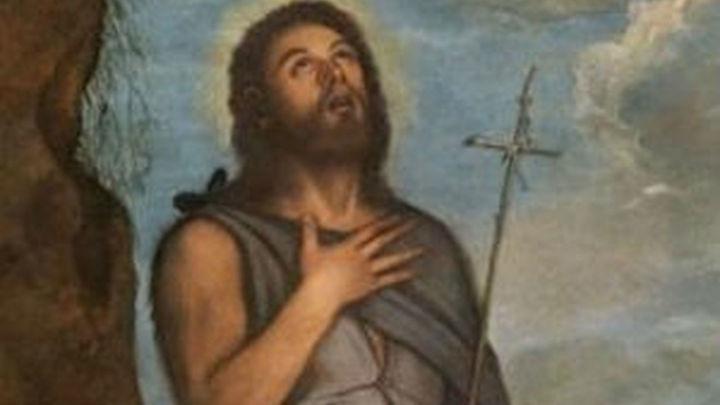 """El Prado expone por primera su """"San Juan Bautista"""" atribuido a Tiziano"""