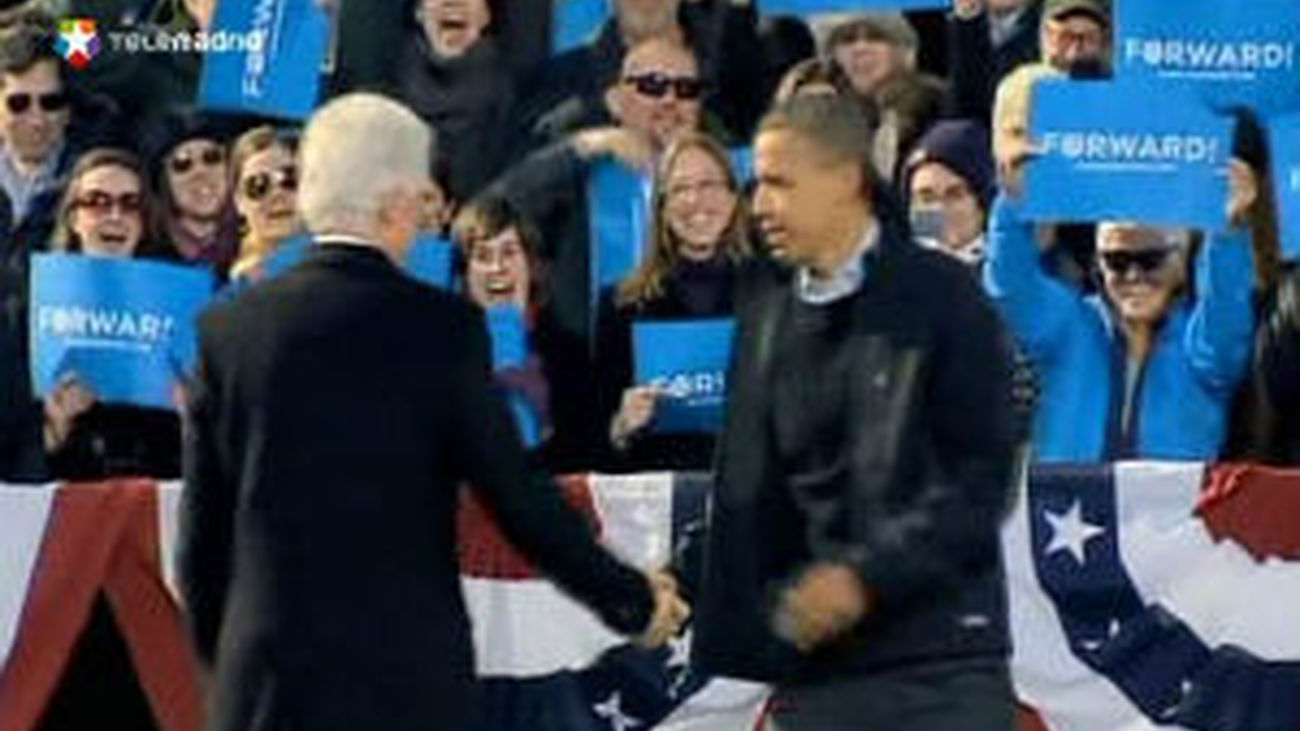 Obama y Romney llegan con un ajustado empate a la recta final