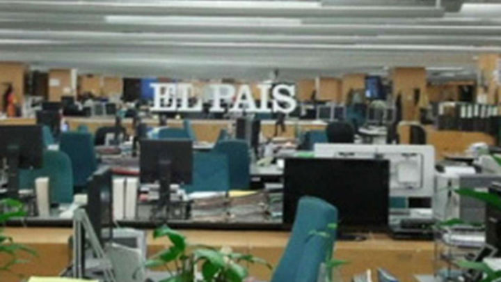 """Seguimiento masivo de la huelga en """"El País"""""""
