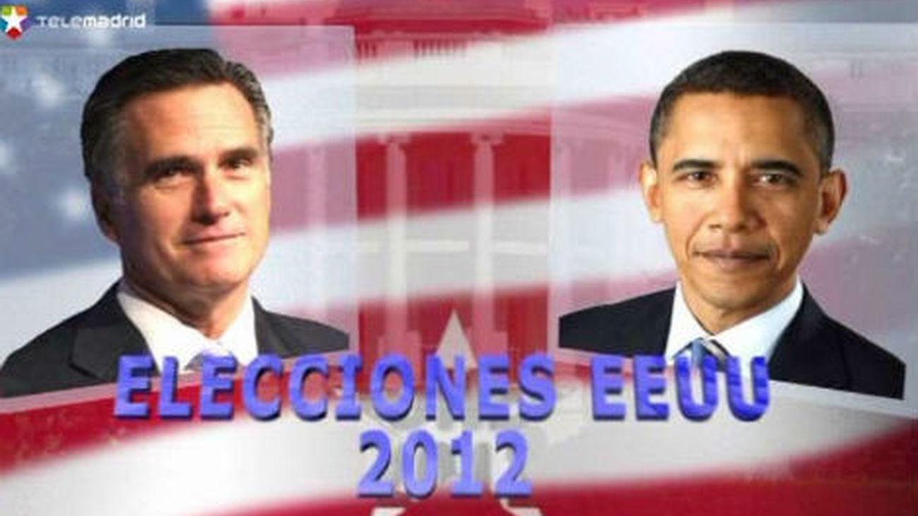 """Los norteamericanos eligen entre """"mas tiempo"""" para Obama o el """"cambio"""" de Romney"""