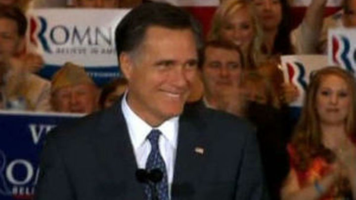 Mitt Romney, 'El cambio republicano'