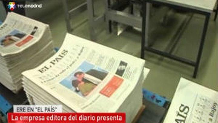 El País presenta ante Empleo un ERE que afecta a 129 personas