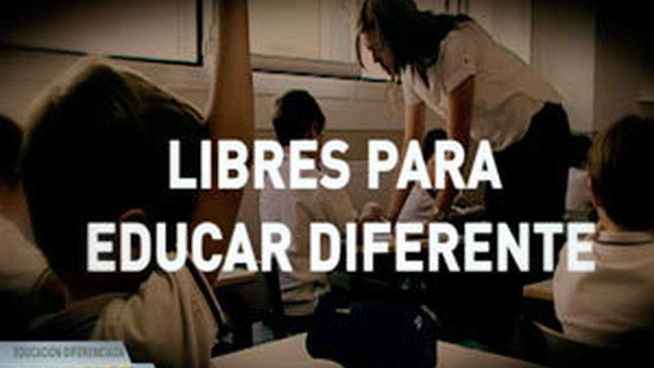 Dossier 30 Minutos: 'Libres para educar diferente'