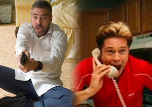 La versión menos lita de Pitt y Clooney, en 'Quemar después de leer'