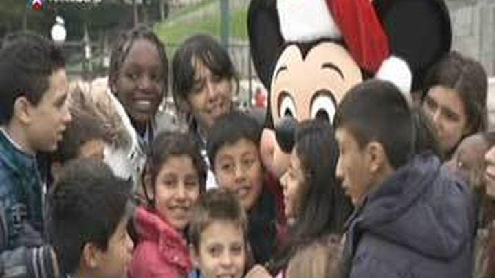 Los niños de San Ildefonso visitan Eurodisney