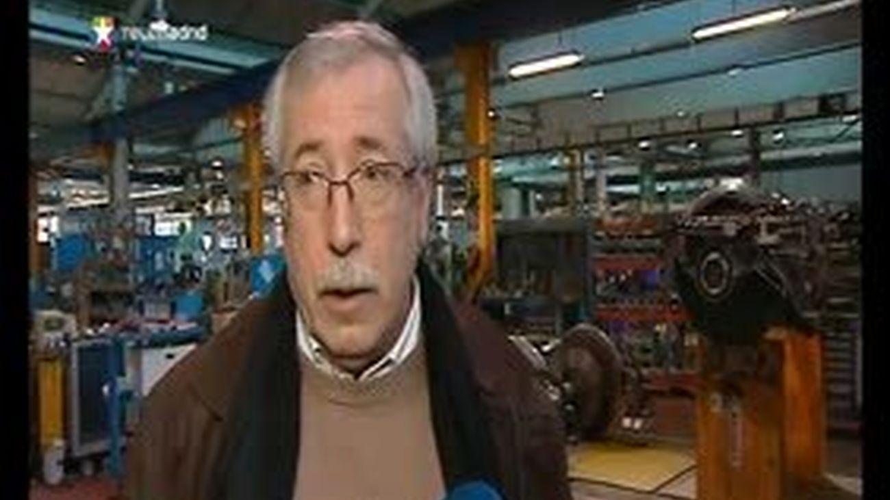 Toxo dice que la huelga será un éxito y Méndez defiende que es una inversión