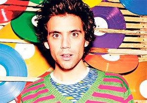El cantante británico de origen libanés Mika