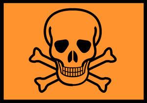 Etiqueta de tóxico