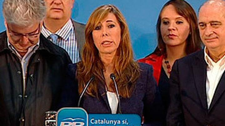 Sánchez-Camacho destaca el buen resultado del PP y el fracaso de Mas