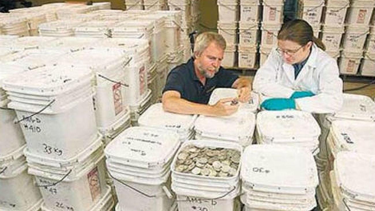 El tesoro del Odyssey se mostrará en el Museo de Arqueología Subacuática de Cartagena