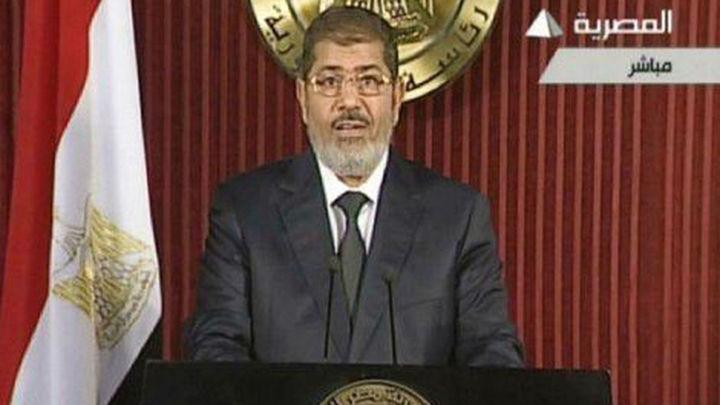 Multitudinaria manifestación de apoyo a Mursi en El Cairo