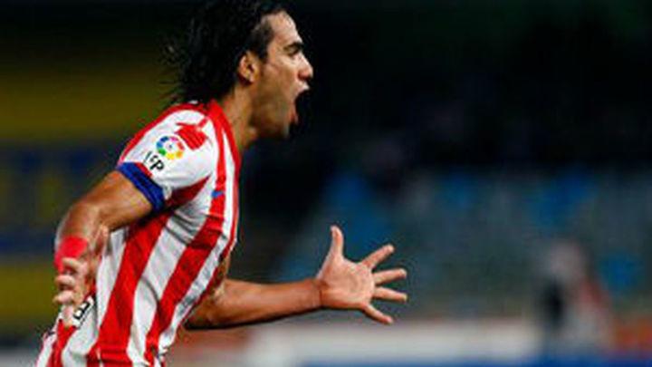 6-0. Cinco goles de Falcao fulminan al Deportivo