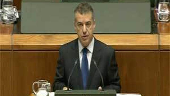 Urkullu es designado lehendakari con los únicos votos del PNV