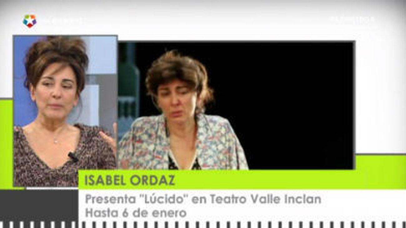 Isabel Ordaz, nueva obra en cartel