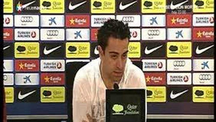 Xavi se deshace en elogios con el Atlético del Cholo, el domingo se enfrentarán