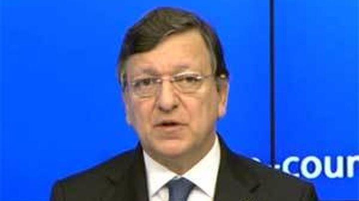 """Barroso: """"Los que  cuestionaban el euro estaban totalmente equivocados"""""""