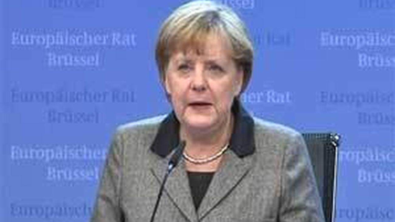 Merkel: España podría beneficiarse del fondo solidario a cambio de reformas