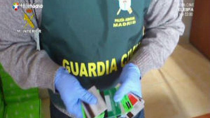 Nueve detenidos por presuntas estafas con tarjetas de crédito falsificadas