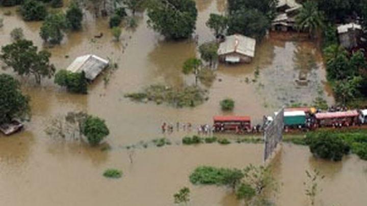 Inundaciones en Sri Lanka dejan 25 muertos y 267.000 afectados