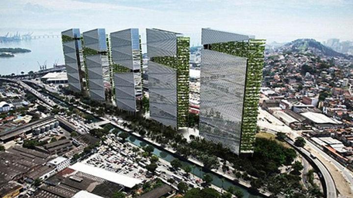 Trump construirá un centro residencial con cinco torres en el puerto de Río