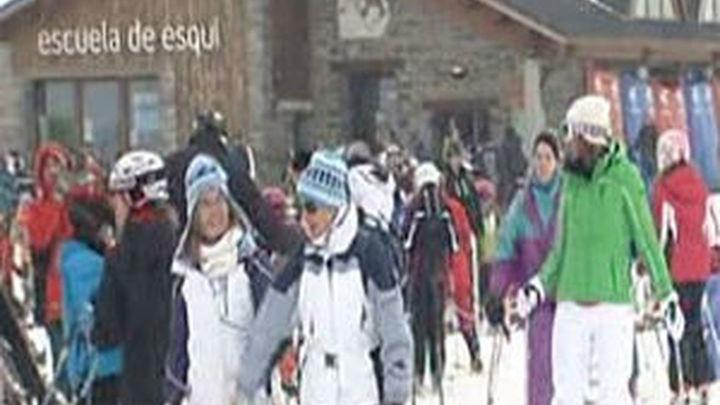 Lleno en las estaciones de esquí españolas para despedir el año