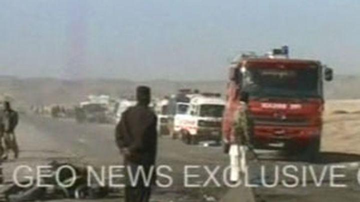 Mueren 18 peregrinos y 35 resultan heridos tras una explosión en Pakistán
