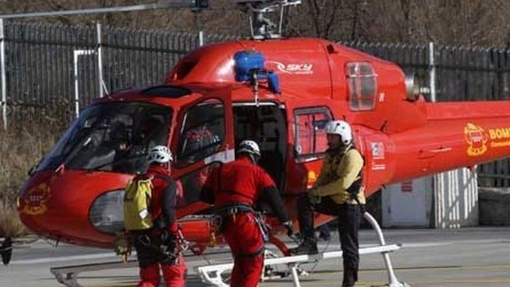 """El """"WhatsApp"""" facilita el rescate  de siete montañeros perdidos en Peñalara"""