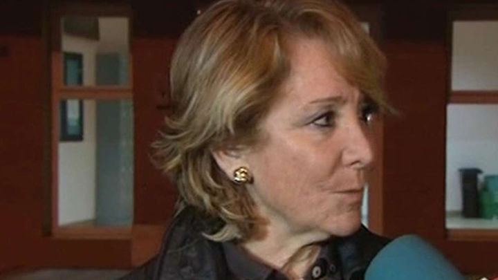 Aguirre visita a Ángel Carromero en la cárcel de Segovia