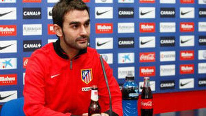 """Adrián: """"El Atlético cada día va a más"""""""
