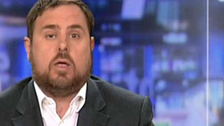"""Junqueras """"convencido"""" de que Mas celebrará el 9N pese al 'no' de Rajoy"""
