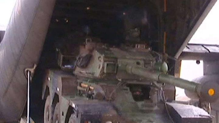 Francia despliega sus tropas terrestres hacia el norte de Mali