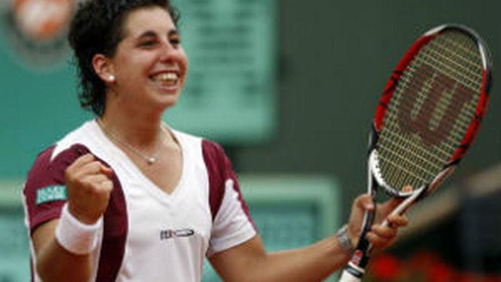 Sydney: Carla Suárez y Muguruza se meten en cuartos