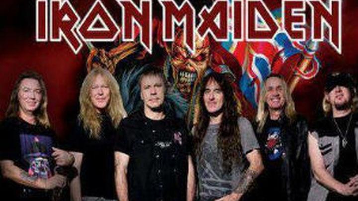Iron Maiden abre su gira europea en Bilbao