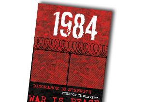 Portada de '1984', de George Orwell