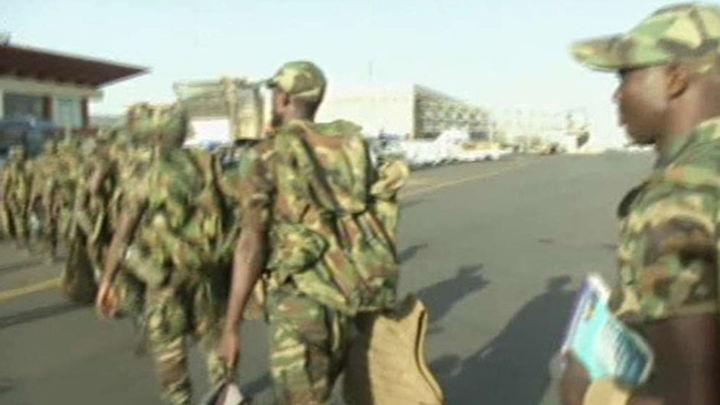 Las tropas malienses y francesas recuperan la ciudad de Diabali