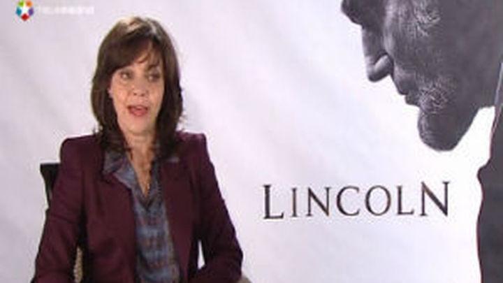 "Sally Field, Spielberg y Daniel Day-Lewis presentan ""Lincoln"" en Madrid"