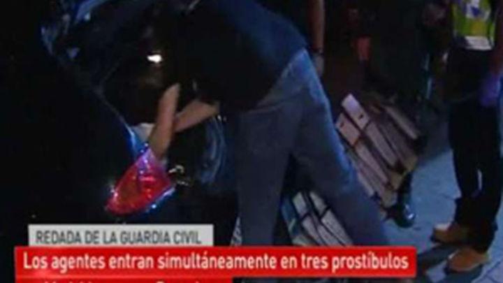 La operación contra la prostitución en Madrid, el video más visto en la web