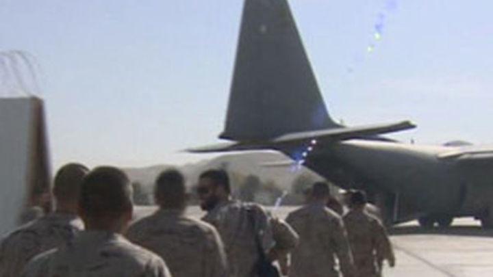 El 'Hércules' español parte con 30 militares para participar en la misión en Malí