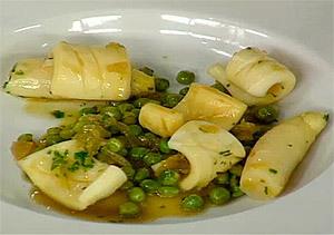 Calamares en salsa verde